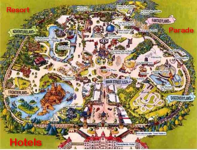 Disneyland Paris Karte 2018.Disneyland Paris Virtual Tour Der Themenpark